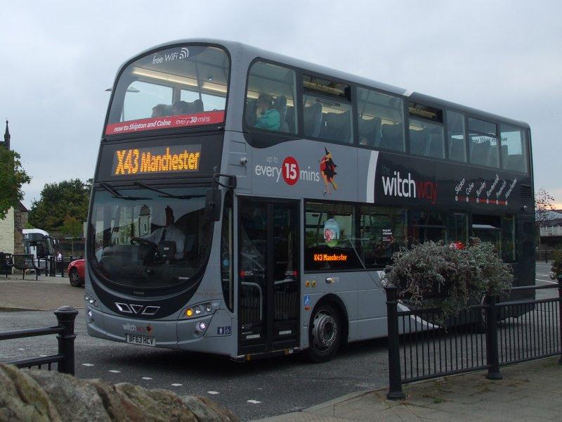 P O Of Burnley Pendle Bus