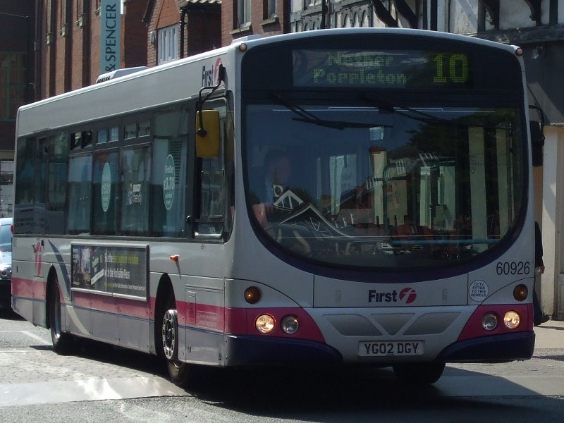 P O Of First York Bus