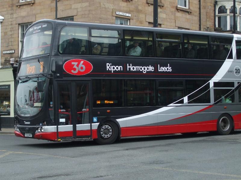 P O Of Transdev In Harrogate Bus