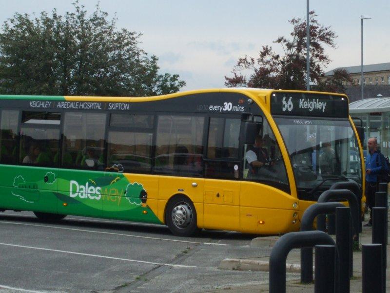 P O Of Transdev Keighley Bus