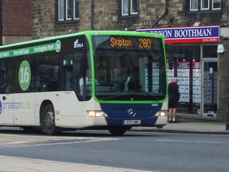 P O Of Rotala Preston Bus